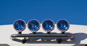 Fog lamps Stock Images