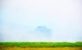 Fog on the mountain Stock Photography