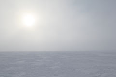Free Fog On Frozen By Sea. Background Stock Photo - 27906430