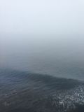 Fog over the Blue Ocean Royalty Free Stock Photography