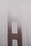 Fog over Golden Gate Bridge, San Francisco Stock Photos