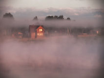Free Fog Over Lake Stock Photography - 30490592