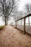 Fog over the Rhine Stock Photography