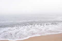 Fog over the sea Royalty Free Stock Images