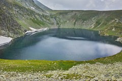 Fog Over The Kidney Lake, The Seven Rila Lakes Royalty Free Stock Photos