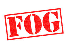 FOG Rubber Stamp Royalty Free Stock Photography