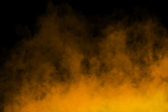 Fog or Smoke Text Death on black Background. Fog or Smoke on black Background for designn Royalty Free Stock Images