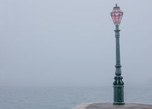 Fog view from Dogana in Venice, Italy Stock Photo