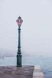 Fog view on Palazzo Ducale, Venice, Italy Stock Photo