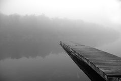 Fog On The Water Royalty Free Stock Image