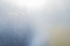 Fog window glass. Fog condensation on window glass Royalty Free Stock Photo