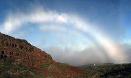 Fogbow in La Palma Royalty Free Stock Photo