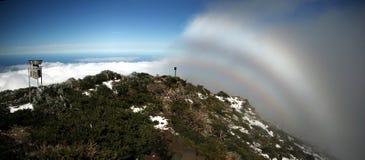 Fogbow in La Palma Royalty Free Stock Image