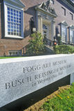 Fogg Art Museum, Cambridge, Massachusetts Royalty Free Stock Photo