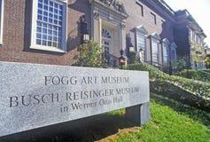 Fogg Art Museum, Cambridge, Massachusetts Stock Photography