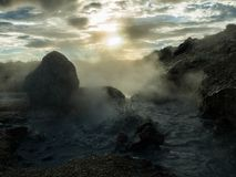Fogg island stockbild