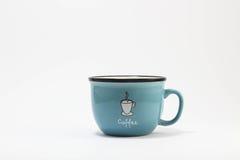 Foggi a coppa il caffè immagine stock