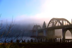 Fogging at Florence, Oregon Royalty Free Stock Image
