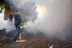 Fogging mosquito Stock Photo