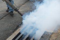Fogging mosquito Stock Images