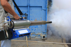 Fogging prevent dengue Royalty Free Stock Photography