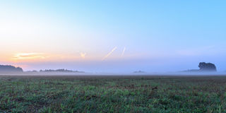 Foggy Bavarian Sunrise Royalty Free Stock Image