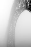 Foggy bridge Stock Photography
