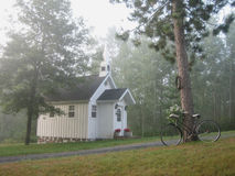 Foggy Chapel Royalty Free Stock Photo