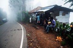A foggy day. This image was taken in Ella, Sri Lanka Royalty Free Stock Photo