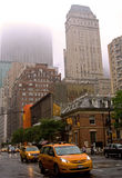 Foggy Day on Madison Avenue Stock Photos