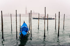 Foggy Day In Venice Royalty Free Stock Photography