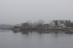 Foggy Day Royalty Free Stock Photography