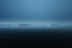 Foggy fjord, Oslo Royalty Free Stock Image
