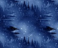 Foggy galaxy Royalty Free Stock Images