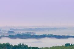 Foggy landscape Royalty Free Stock Photos