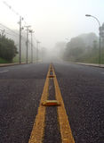 Foggy landscape Royalty Free Stock Photo