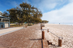 Foggy morning on Australian beach Stock Photography
