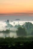 Foggy morning Stock Photos