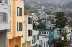 Foggy morning in San Francisco Stock Photos