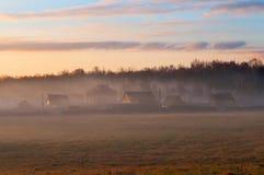 A foggy morning Royalty Free Stock Photos