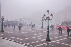 Foggy morning in Venice Stock Photography