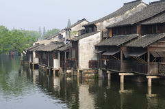 Foggy Morning in Wuzhen China Royalty Free Stock Image