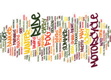 Foggy Motorcycle Ride Text Background  Word Cloud Concept Royalty Free Stock Photography