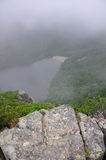 Foggy Mountain Top Stock Images
