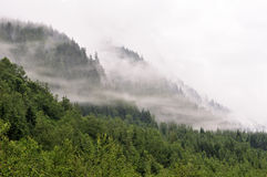 Foggy Mountains Royalty Free Stock Image