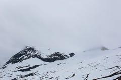 Foggy mountains in Norway Stock Photos