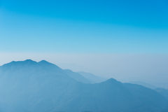 Foggy mountains Royalty Free Stock Image