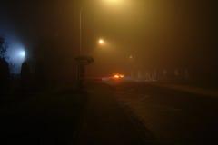 Foggy night Stock Photography