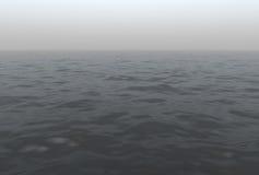 Foggy Ocean Scenic Stock Photos