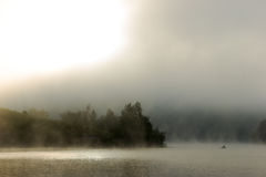 Foggy river Royalty Free Stock Image